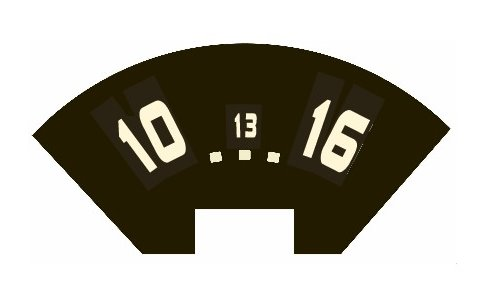voltmeter decal.