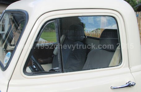 1952 Chevy Truck Restoring And Modifying The Doors Upgrading To Single Glass Windows Removing The Vent Windows