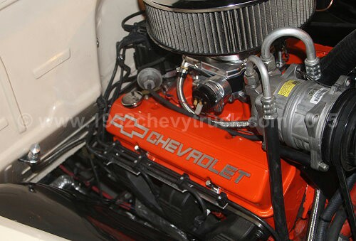 350 cubic inch Chevy small block