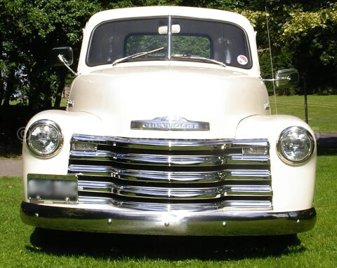 Chevy truck front grill
