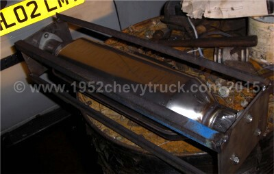1952 Chevy truck exhaust system jig.