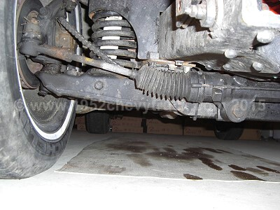 1952 Chevy truck steering rack.