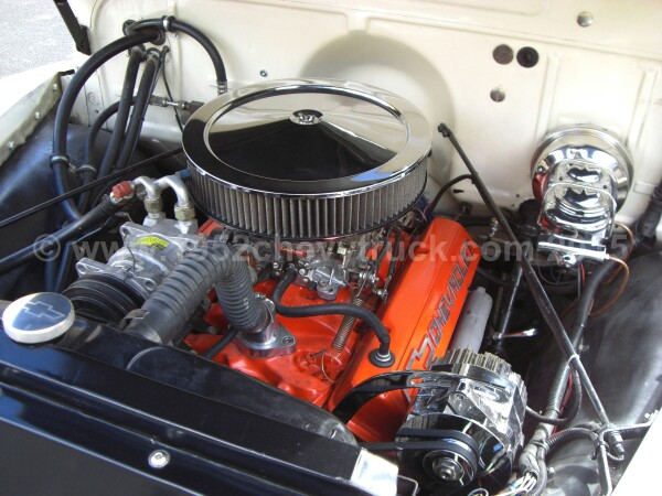 1952 Chevy truck engine.