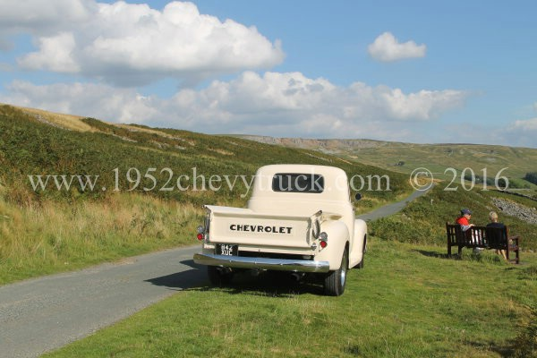 Pictures of the truck in the Yorkshire Dales.