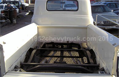 A 1952 Chevy Truck Under Bed Fuel Tank Stainless Steel